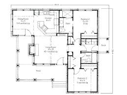 two house blueprints modern two bedroom house plans floor plans for small 2 bedroom