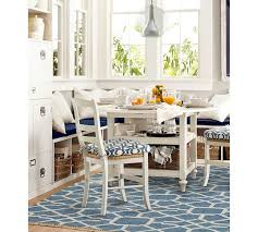 Pottery Barn Kitchen Furniture Diamond Maze Synthetic Indoor Outdoor Rug Blue Pottery Barn