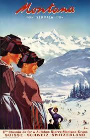 Montana travel photo album images 28 best crans images vintage ski posters montana jpg