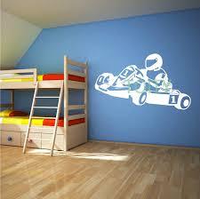 sport en chambre x go kart karting racing mur chambre décor vinyl decal sport