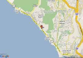 california map laguna map of montage resort and spa laguna