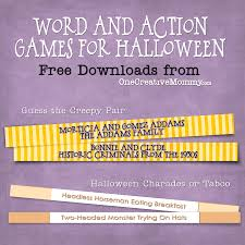 halloween party games for kids and grownups too