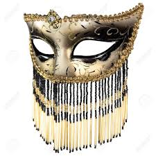 black and white masquerade masks carnival masquerade mask christmas black gold white background