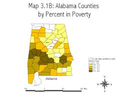 Alabama Counties Map Maps And Charts The Thumbnails