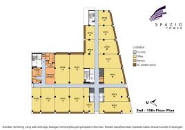 L Tower Floor Plans Floor Plan Spazio Tower
