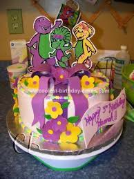 barney birthday cake coolest barney and friends birthday cake