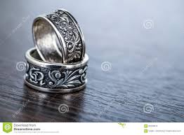 old rings silver images Close up old silver rings stock photo image of single 68286076 jpg