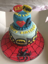 superhero cake for a 6 year old