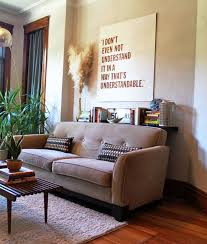 console table behind sofa against wall what to do with that small awkward gap behind the sofa apartment