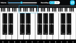 piano key notes piano keyboard android apps on google play