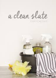 Home Clean A Clean Slate Copycatchic