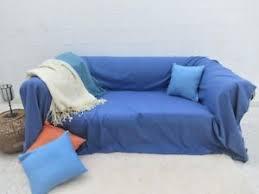 plaid turquoise pour canapé grande fouta bleu jeté de canapé couvre canapé couvre lit plaid pour