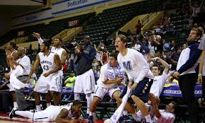 basketball player on bench 8 of monmouth basketball s brilliant bench celebrations ranked