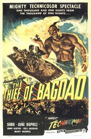 Bagdad Theater Movie Showtimes by The Thief Of Bagdad 1940 Ludwig Berger Michael Powell Tim
