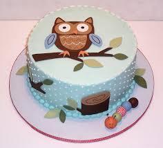 Photo Boy Baby Shower Cake Image