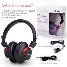 bluetooth wireless nfc headphones avantree audition avantree
