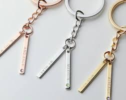 personalized birthstone keychains birthstone keychains etsy