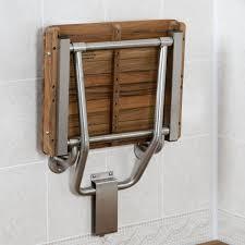 Fold Down Shower Bench Amazon Com Teak Ada Wall Mounted Shower Bench Seat 18