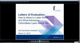 ask admissions webinar recording how to select letter writers