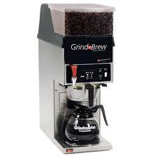 Coffee Maker With Grinder And Thermal Carafe Grindmaster Gnb11h 5 5 Lb Single Hopper 64 Oz Decanter Grind U0027n