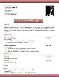 Free Resume Maker Word Free Resume Builder No Charge Resume Template And Professional