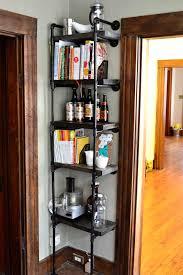 Industrial Metal Bookshelf Wonderful Tall Industrial Shelving Metal Shelves Storage Ideas