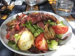 landes cuisine salade des landes gésiers et magret de canard picture of la