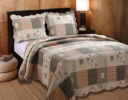 Bedspreads King Amazon Com Greenland Home Sedona King 3 Piece Quilt Set Home