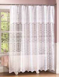 Lace Curtains And Valances Victorian Lace Curtains Curtain Pinterest Lace Shower