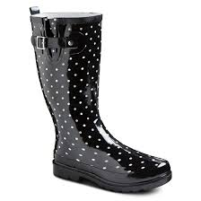 target white womens boots s polka dot boots target