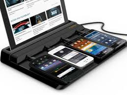 Recharge Station Super Charging Station For Smartphones And Tablet Hardware Sphere