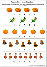 thanksgiving games for preschoolers picturesque free printable math worksheets worksheet for toddlers