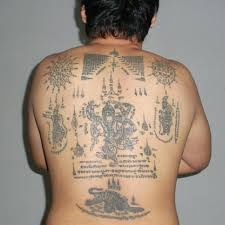 sak yant in thailand the ancient art of bamboo tattoos