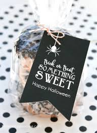 Halloween Wedding Favors Trick Or Treat Something Sweet Bloom Designs