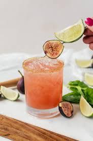 nothing like relaxing in a fresh fig margarita