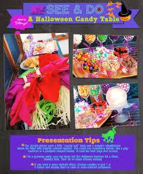 easiest halloween candy table setup ever