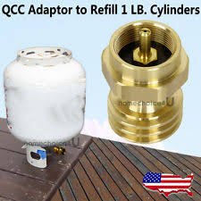 Backyard Grill Refillable Propane Tank Propane Adapter Outdoor Sports Ebay