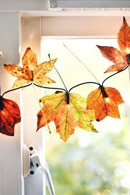 fall garland with lights if looking for a really easy and