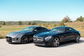 2016 jaguar f type r vs 2016 mercedes benz amg gt s youtube