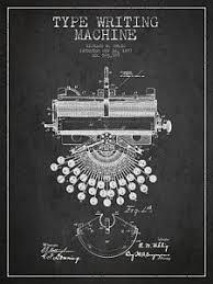 Dark Posters Vintage Typewriter Posters Fine Art America