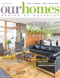 modernist house in kitchener goes upside down our homes magazine our homes waterloo summer 2016