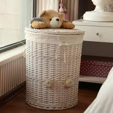 Sorter Laundry Hamper by Aliexpress Com Buy Woven Wicker Baskets Round Laundry Hamper