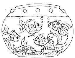 aquarium coloring pages printable images podhelp