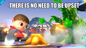 The Villager Meme - super smash bros the villager and wii fit trainer spawn memes