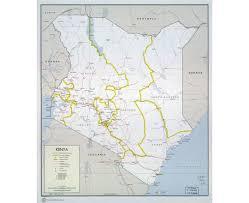 Map Of Tanzania Maps Of Kenya Detailed Map Of Kenya In English Tourist Map