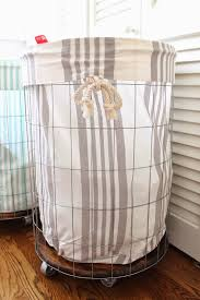 Dirty Laundry Hamper by The Picket Fence Projects Airing Our Dirty Laundry And Diy Hamper