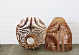Design For Wicker Lamp Shades Ideas with Wicker Lamp Shades Home Lighting Clanagnew Decoration