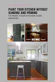 how to paint cabinets without primer how to paint your kitchen cabinets without sanding and