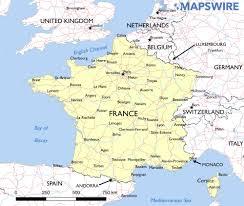 Andorra Map Free Maps Of France U2013 Mapswire Com
