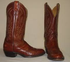 s boots size 9 1 2 vintage justin s brown leather cowboy boots size 9 1 2
